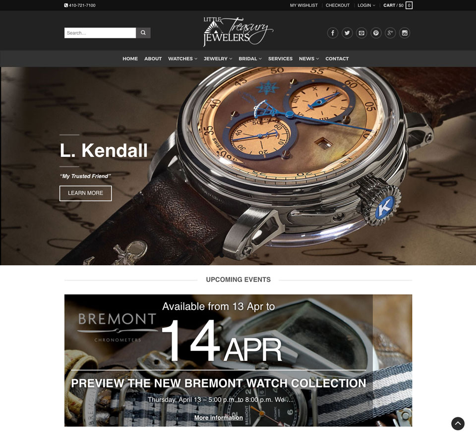 littletreasury-homepage